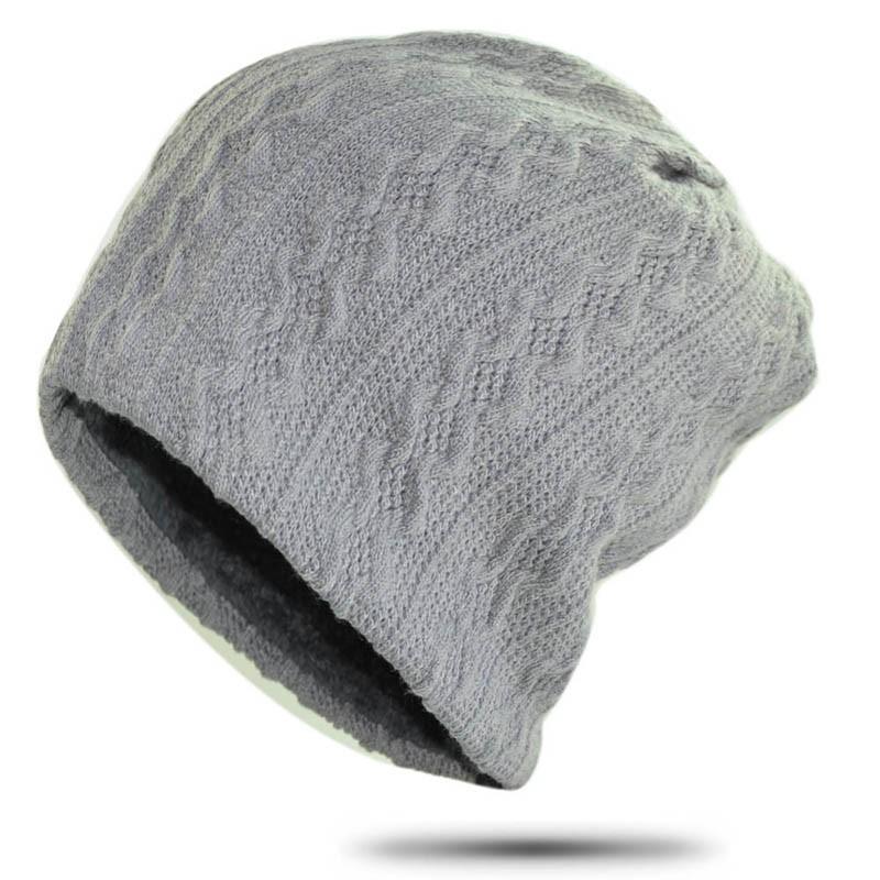 Ericdress Casual Woolen Knit Winter Plain Hat