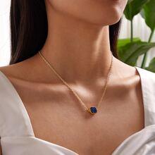 1pc Geometric Charm Necklace