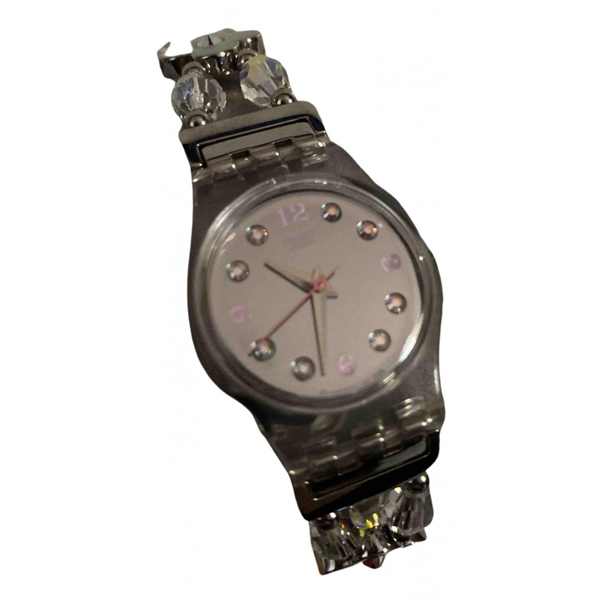 Swatch - Montre   pour femme en acier