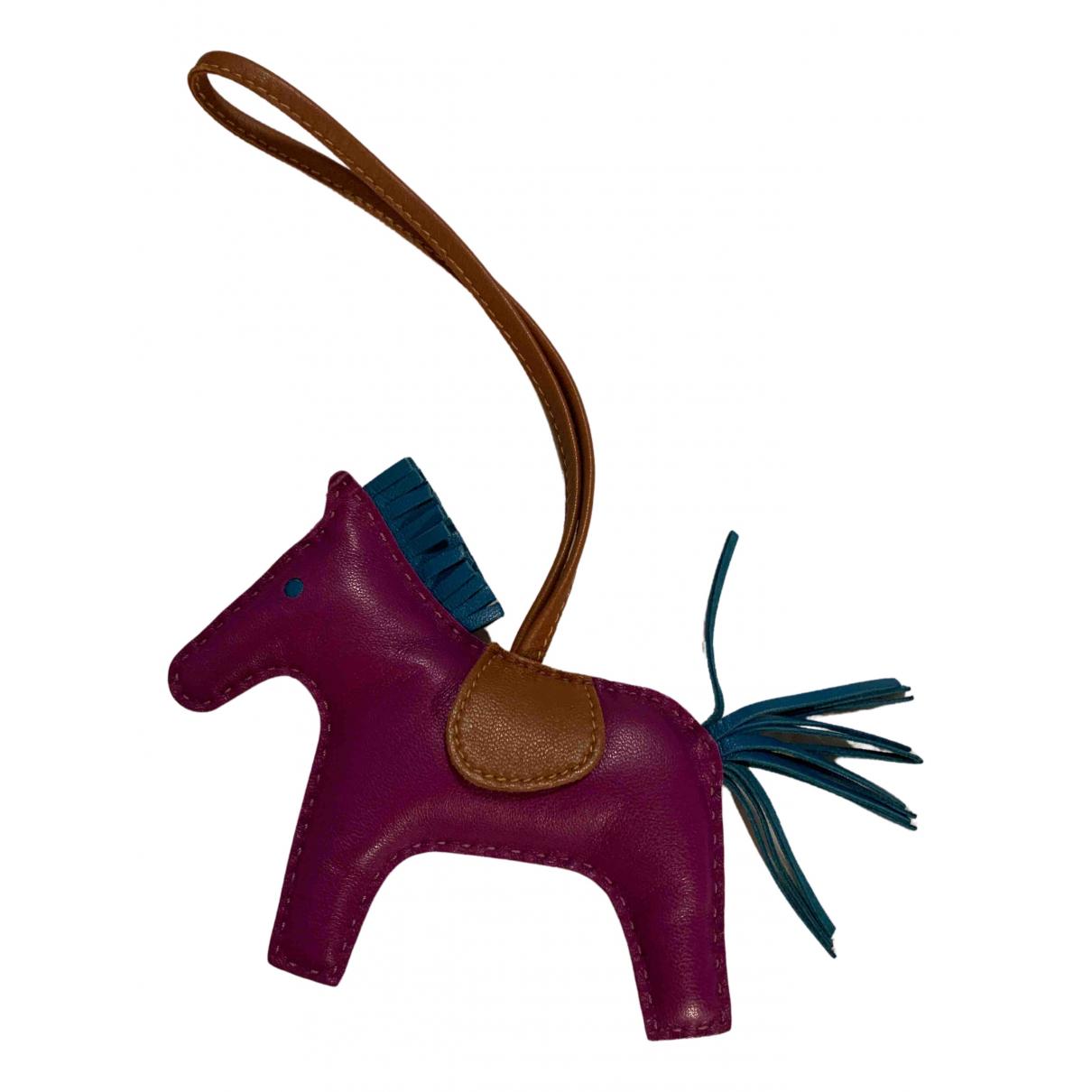 Hermes - Petite maroquinerie   pour femme en cuir - violet
