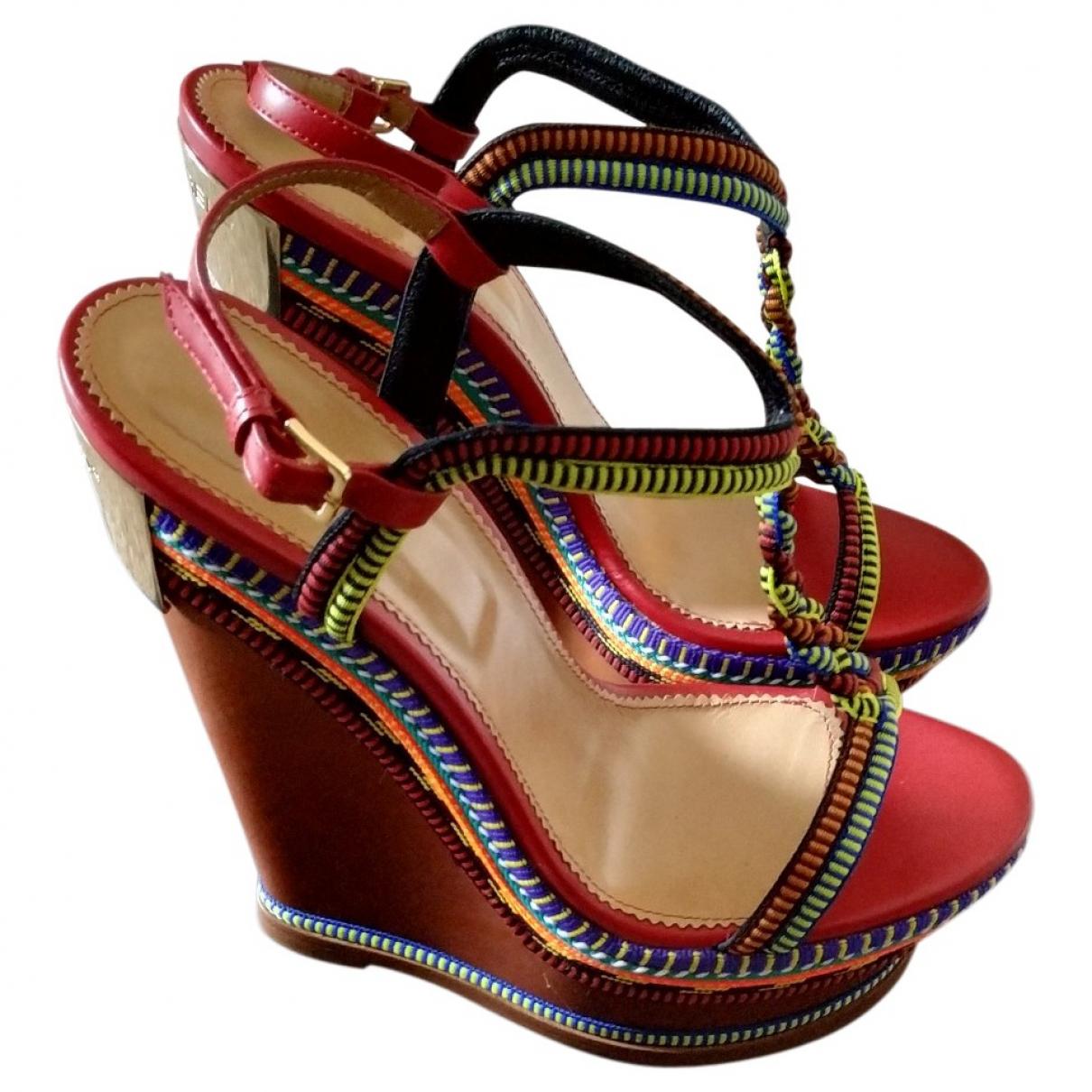 Dsquared2 \N Multicolour Leather Sandals for Women 40 EU