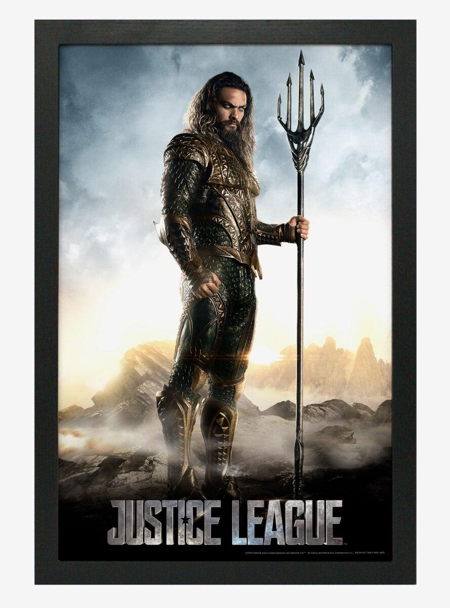 DC Comics Justice League Aquaman Poster