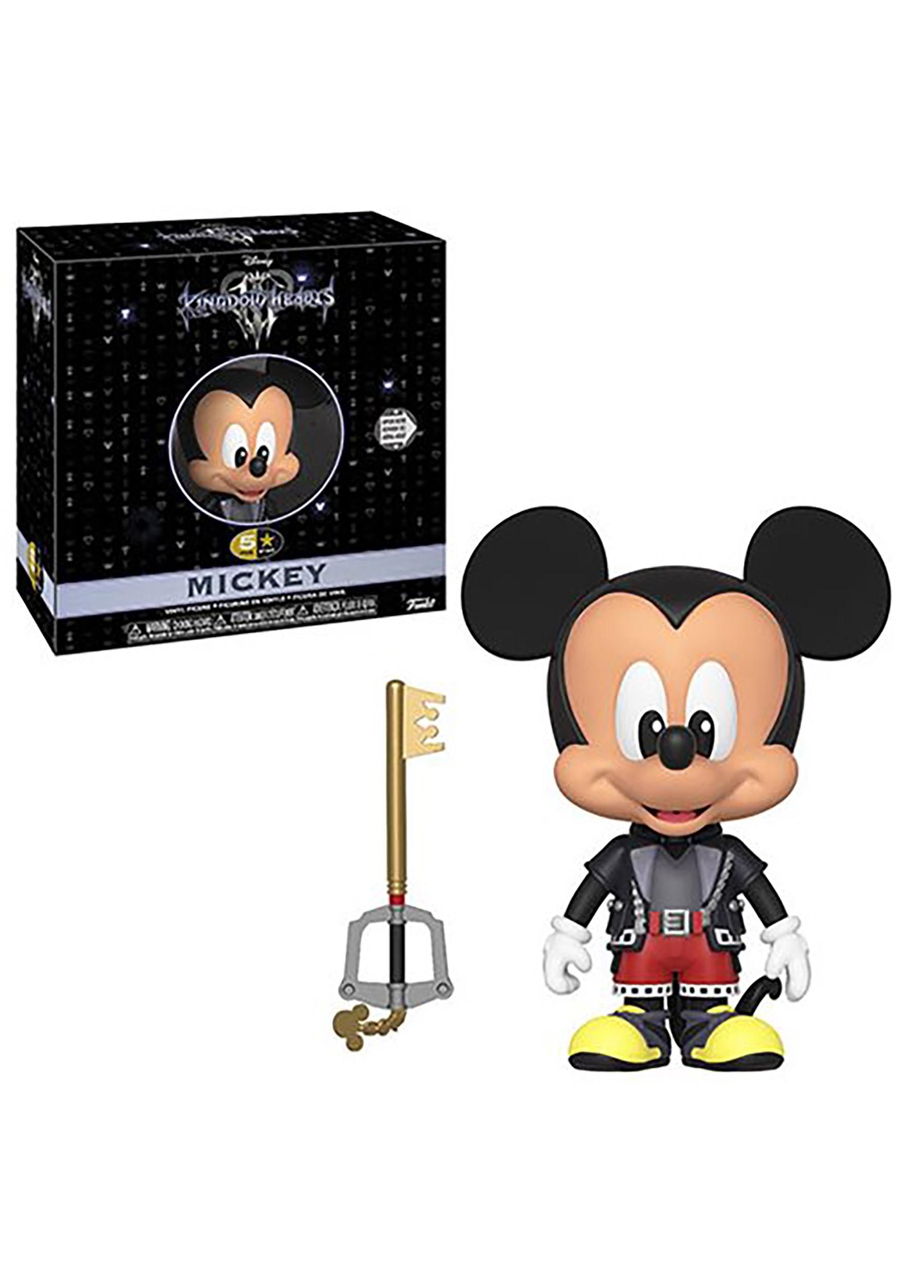 5 Star: Kingdom Hearts 3- Mickey