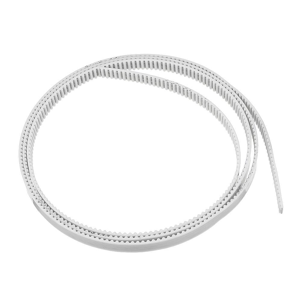 Machifit GT2 6mm Timing Belt 1m Opening PU Timing Belt CNC Parts White