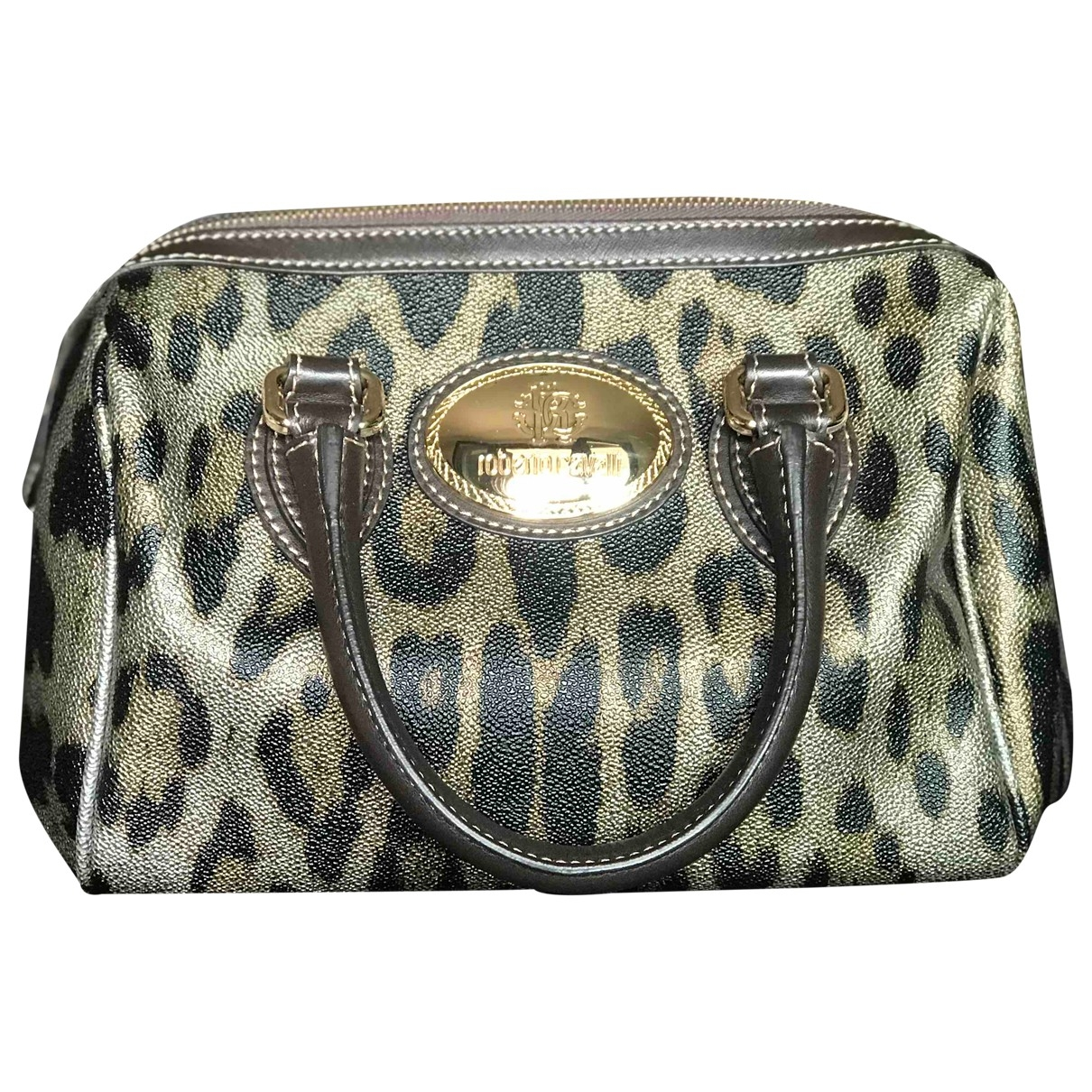 Roberto Cavalli \N Leather handbag for Women \N