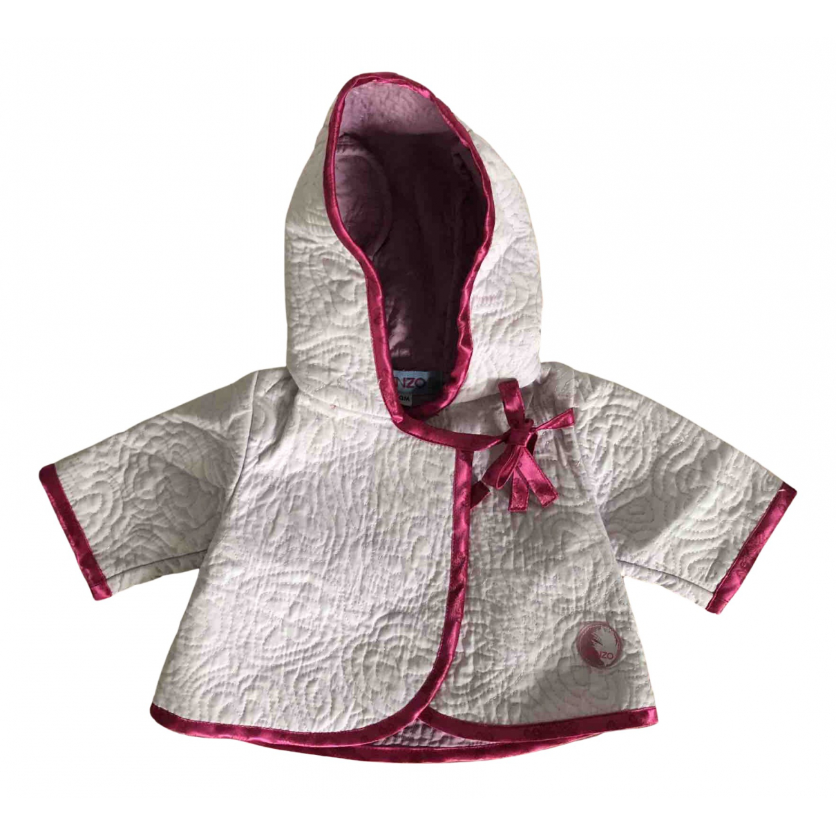 Kenzo N Pink Cotton jacket & coat for Kids 1 months - up to 55cm FR