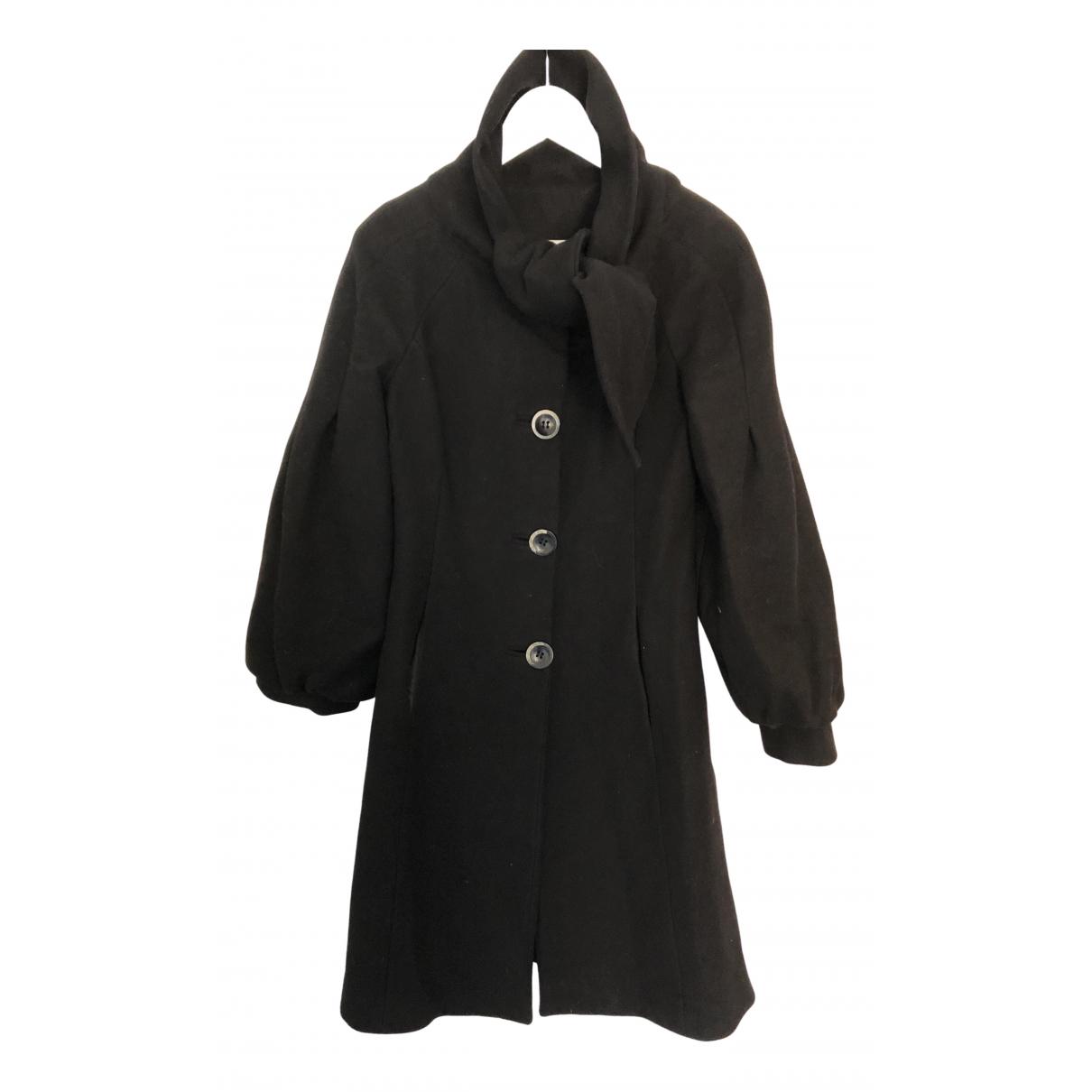 Alberta Ferretti \N Black Wool coat for Women 40 IT