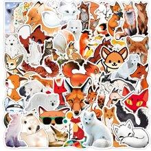 50pcs Fox Pattern Sticker