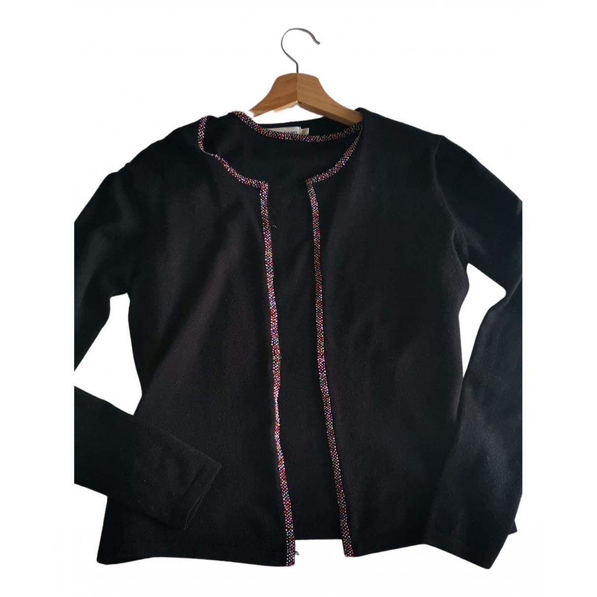 Gerard Darel - Pull   pour femme en laine - noir