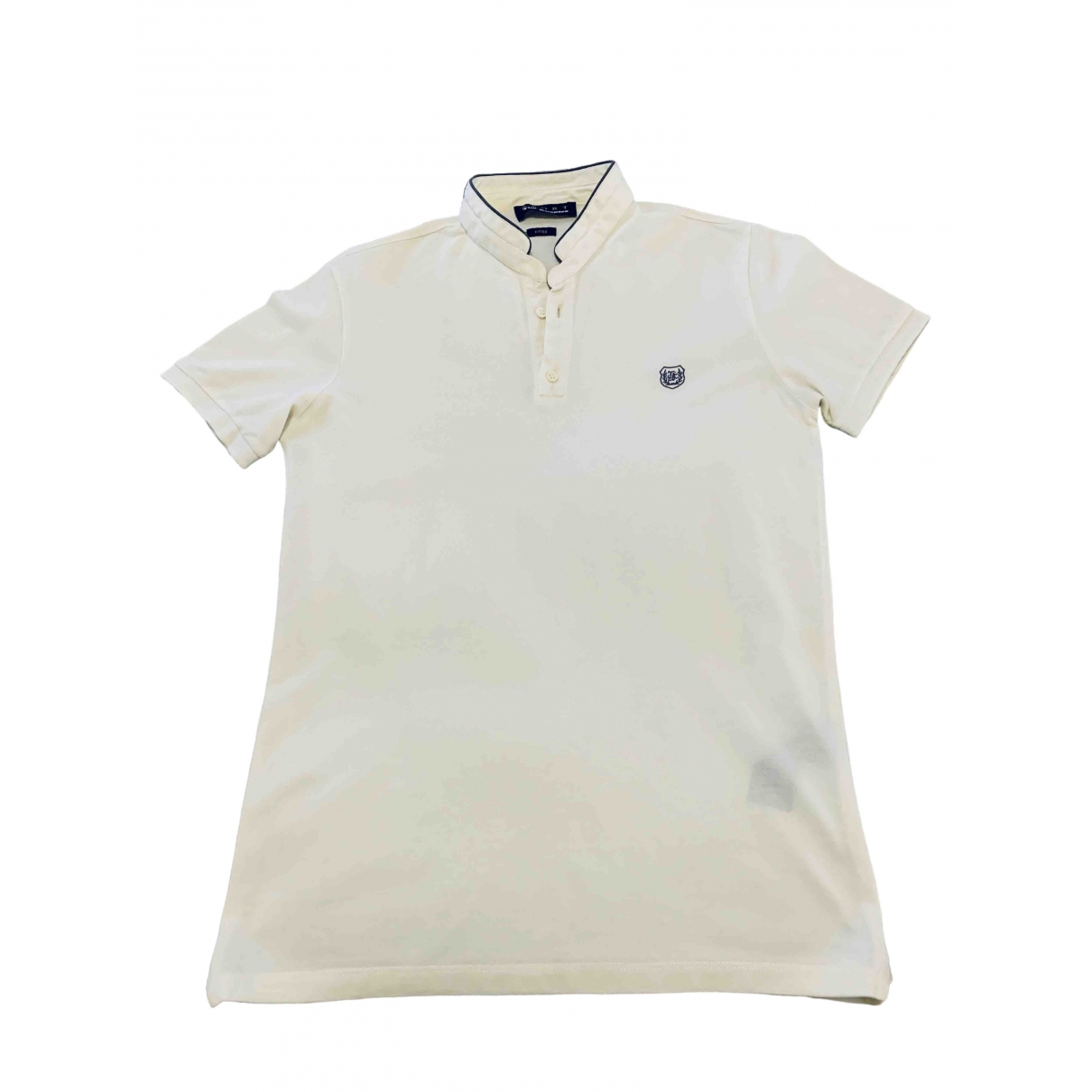 The Kooples Spring Summer 2019 Yellow Cotton Polo shirts for Men XS International