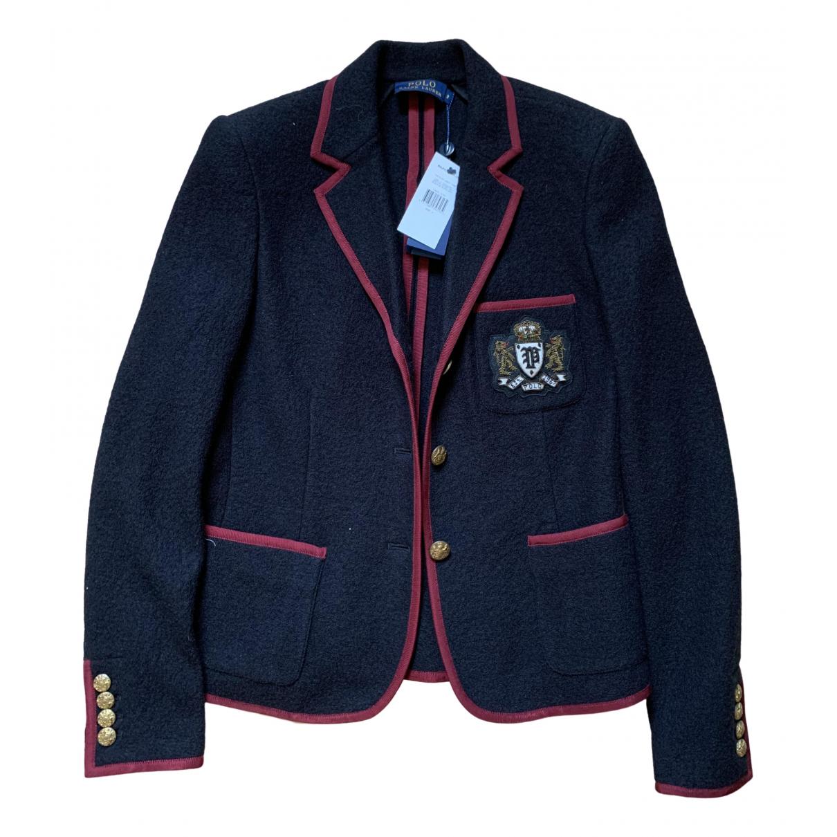 Polo Ralph Lauren \N Black Wool jacket for Women 2 US