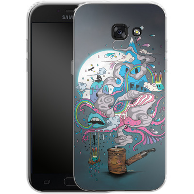 Samsung Galaxy A5 (2017) Silikon Handyhuelle - Pipe Dreams von Mat Miller