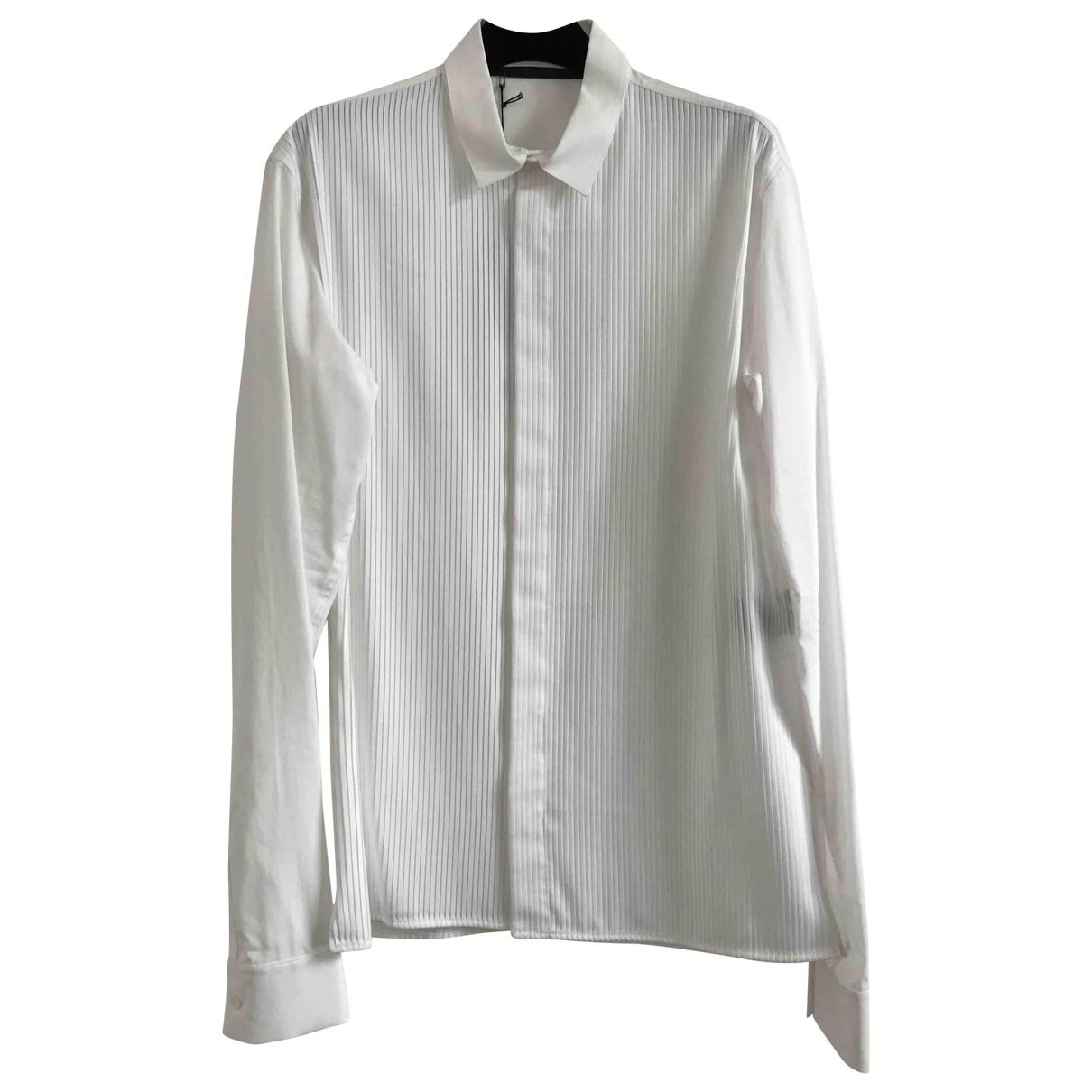 Haider Ackermann - Chemises   pour homme en coton - blanc