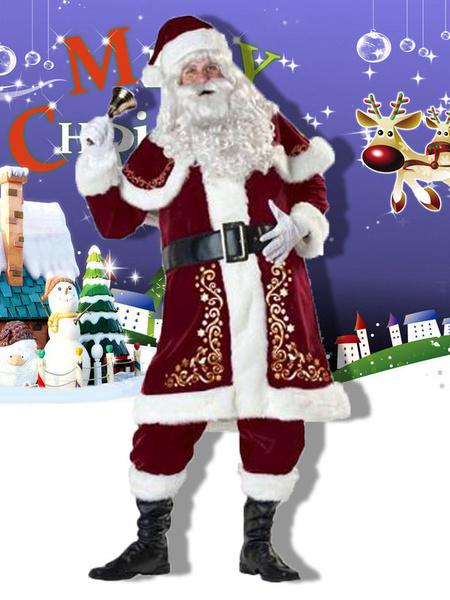 Milanoo El Equipo De Santa Clausula de Navidad