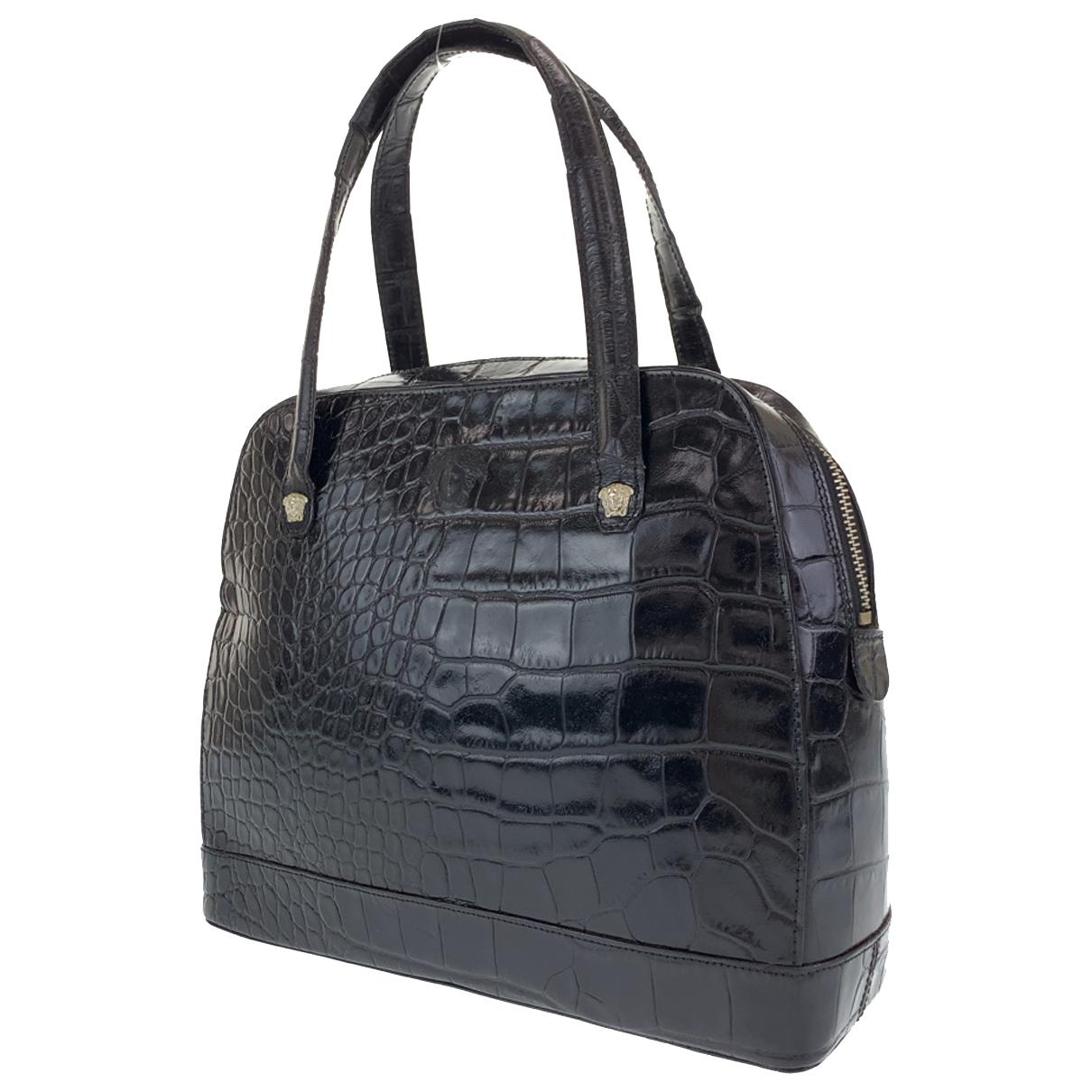 Gianni Versace \N Handtasche in Leder