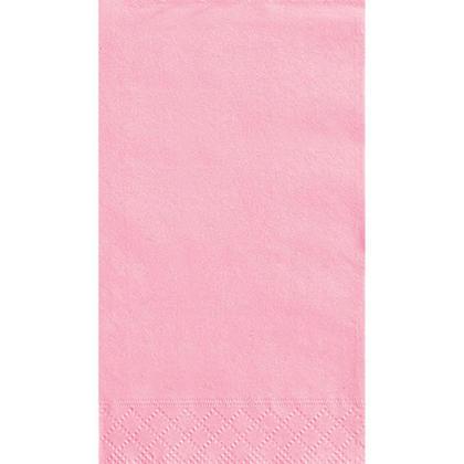 Serviettes Serviette Invité Party Couleur unie 33 * 40cm 13 * 16In 2-Ply Lovely Pink 20Pcs