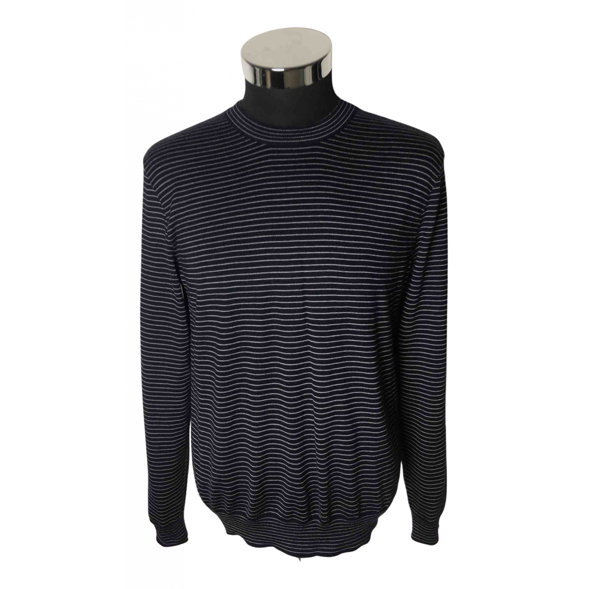Ralph Lauren Purple Label \N Pullover.Westen.Sweatshirts  in  Marine Kaschmir