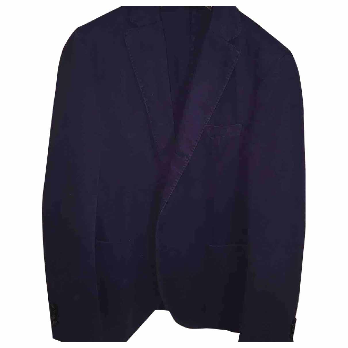 Non Signé / Unsigned \N Blue Denim - Jeans jacket  for Men 46 IT