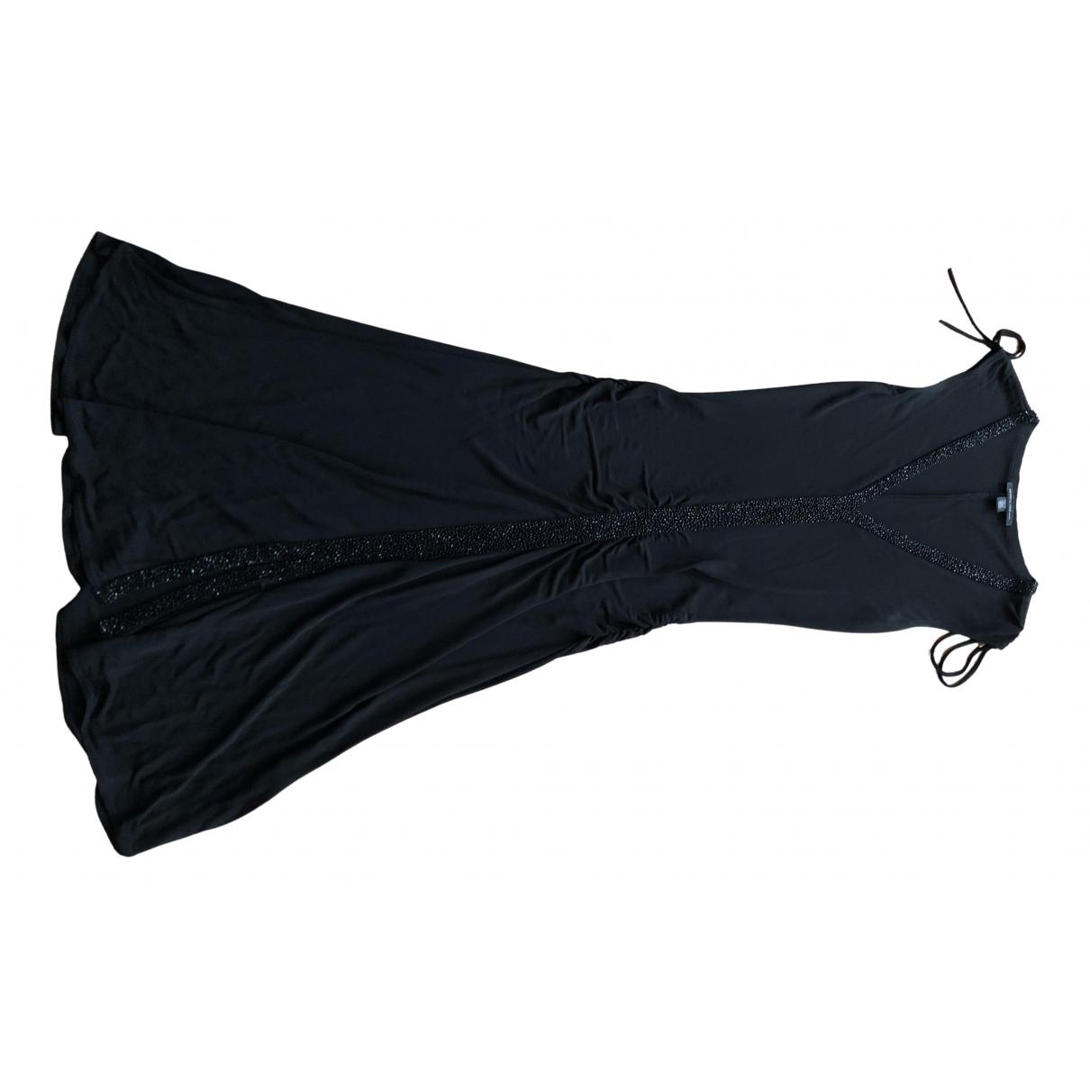 Kenneth Cole \N Kleid in  Schwarz Baumwolle - Elasthan