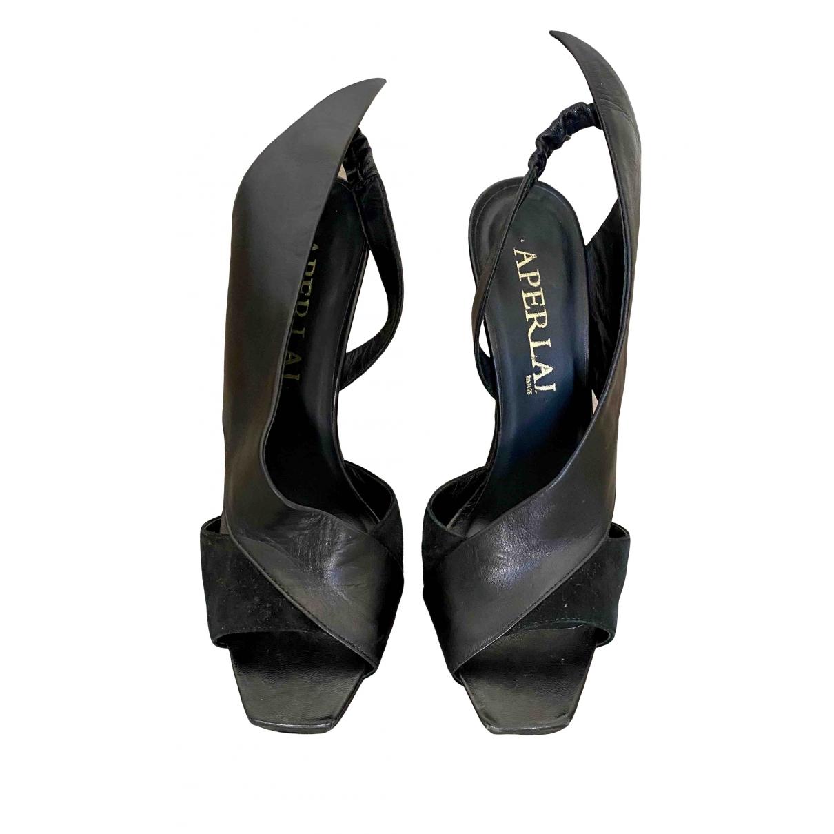 Sandalias de Cuero Aperlai