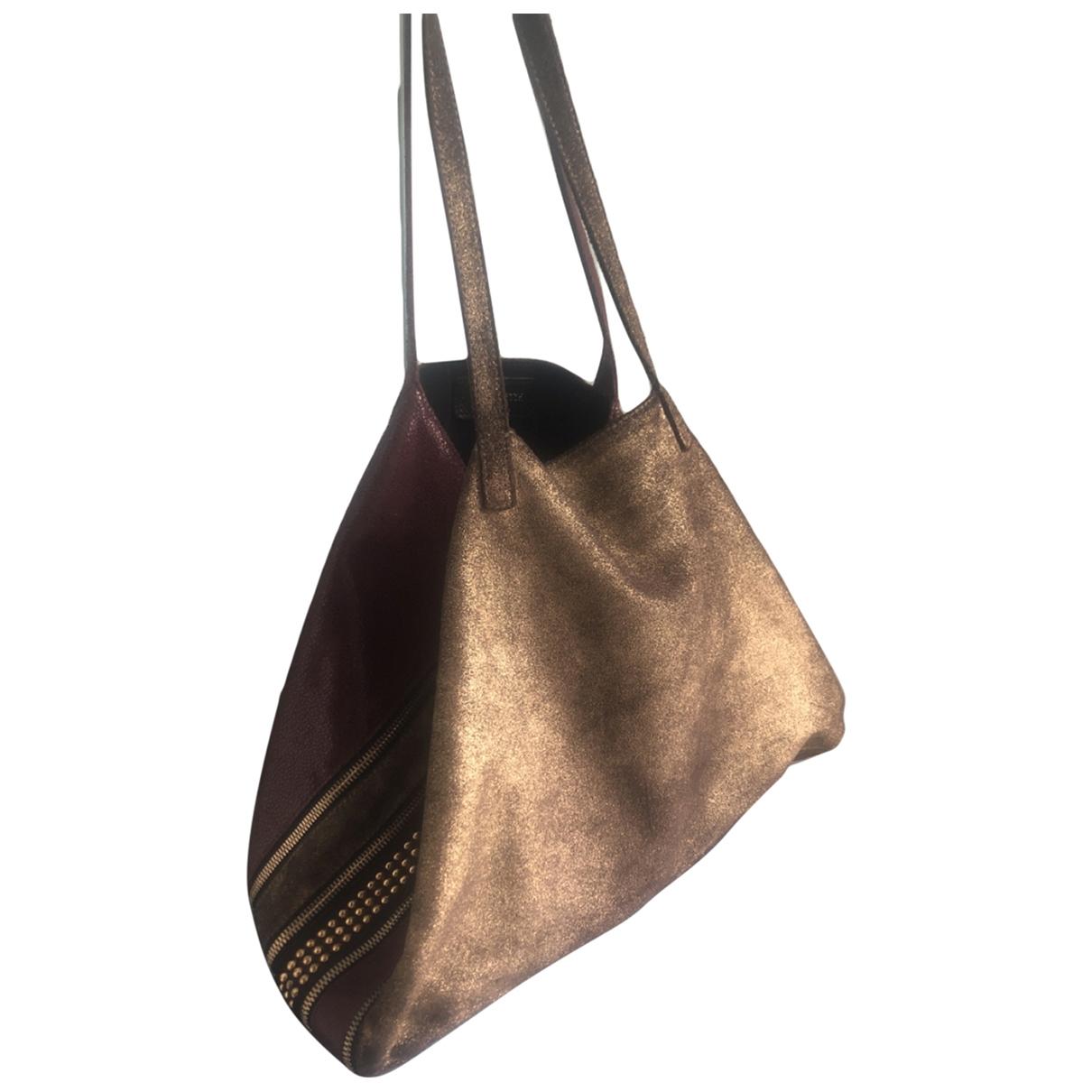 Le Facette \N Handtasche in  Bunt Leder