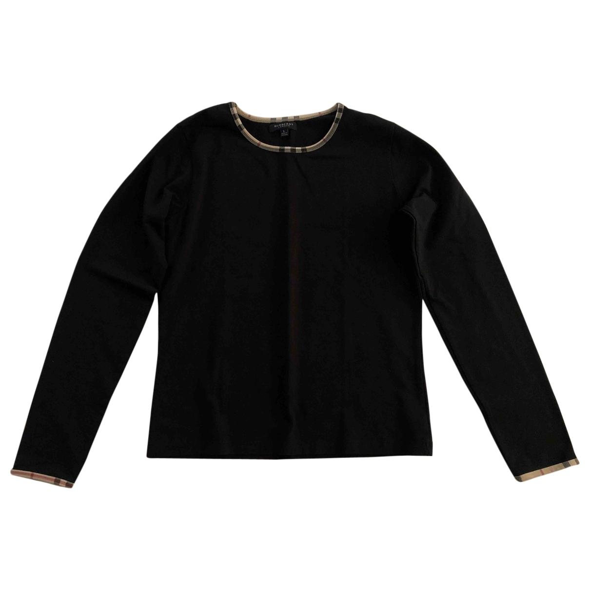 Burberry \N Black Cotton Knitwear for Women L International