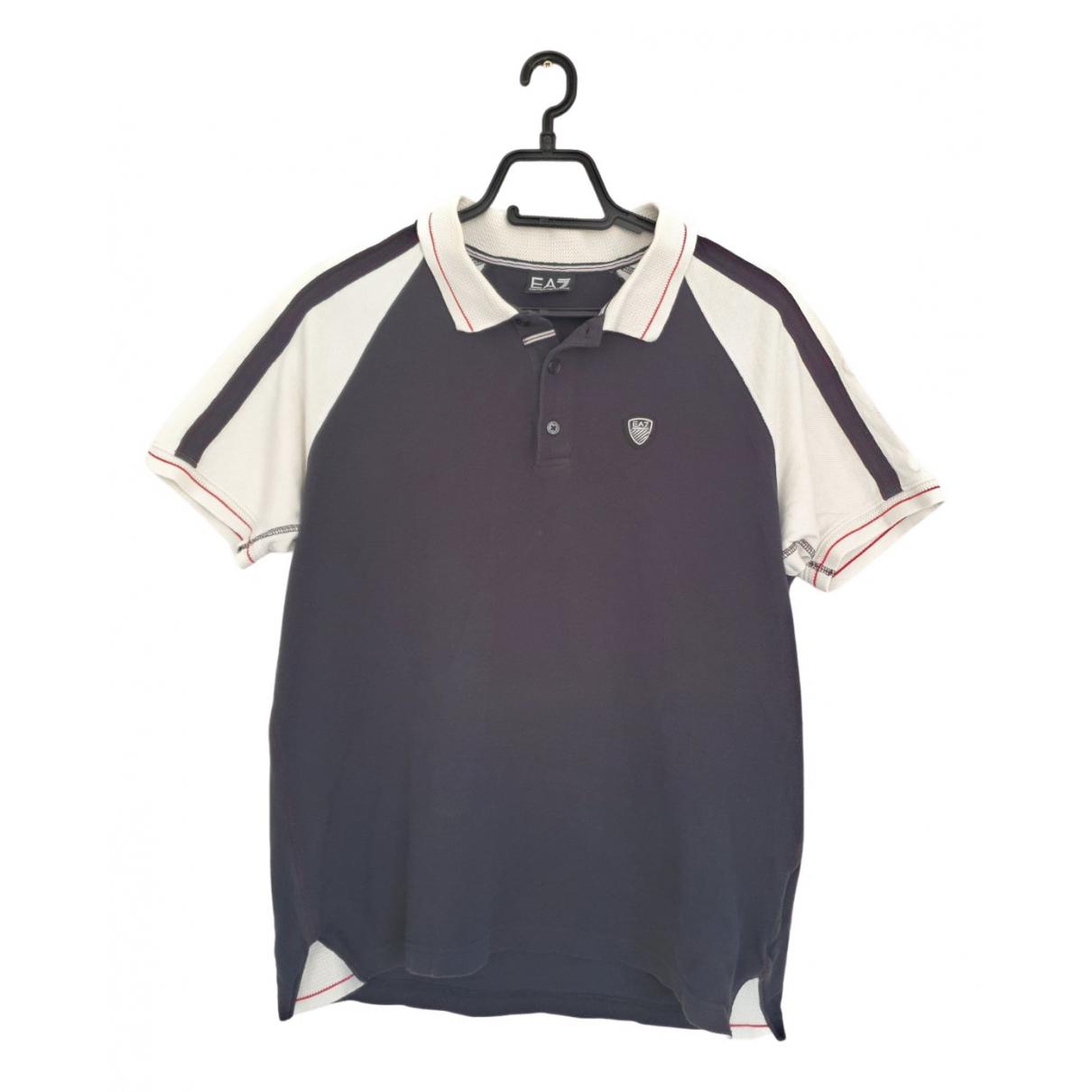 Emporio Armani \N Poloshirts in  Schwarz Baumwolle