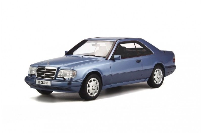 Mercedes (C124) E320 Coupe Blue Limited Edition to 2000pcs 1/18 Model Car by Otto Mobile