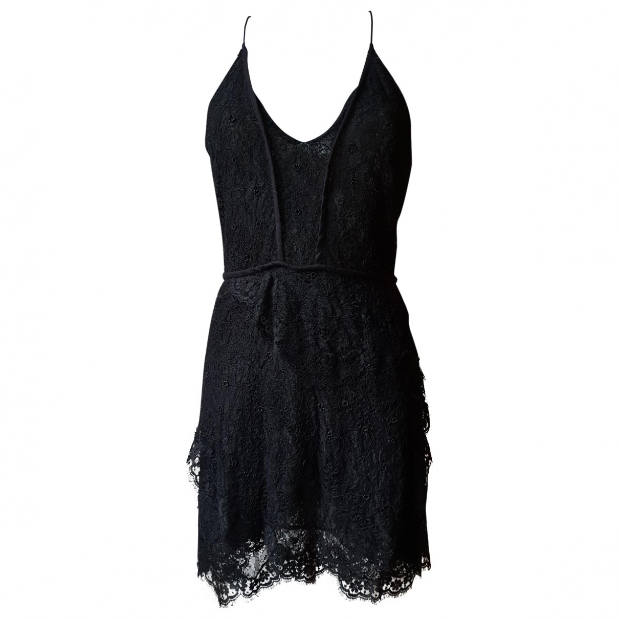 Isabel Marant \N Black Silk dress for Women 42 FR