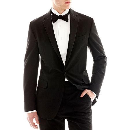JF J. Ferrar Tuxedo Jacket - Classic, 40 Short, Black