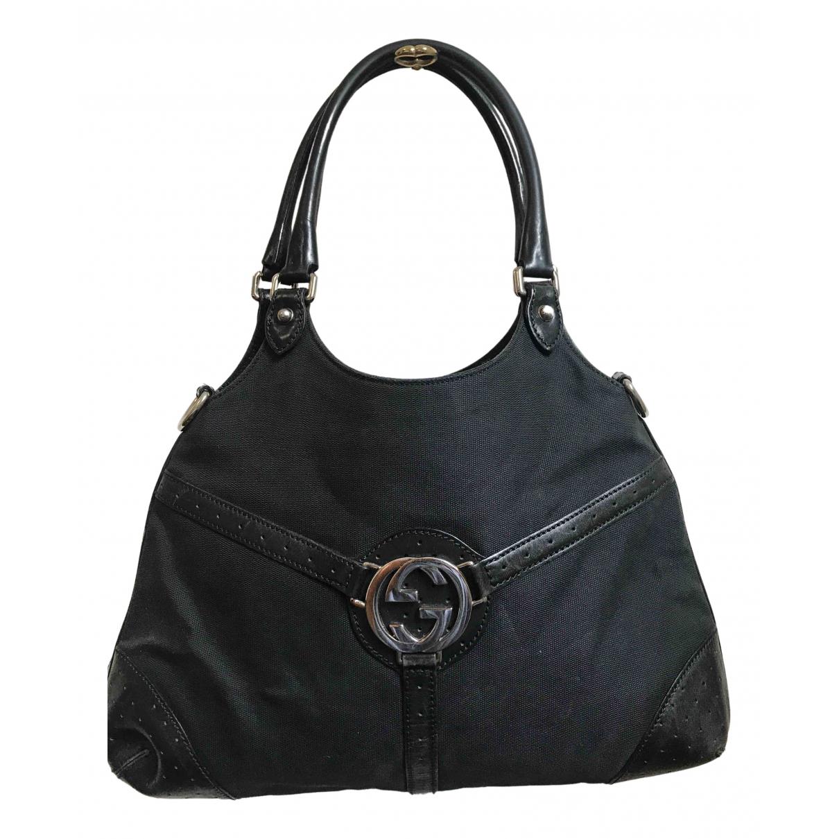 Gucci N Black Cotton handbag for Women N