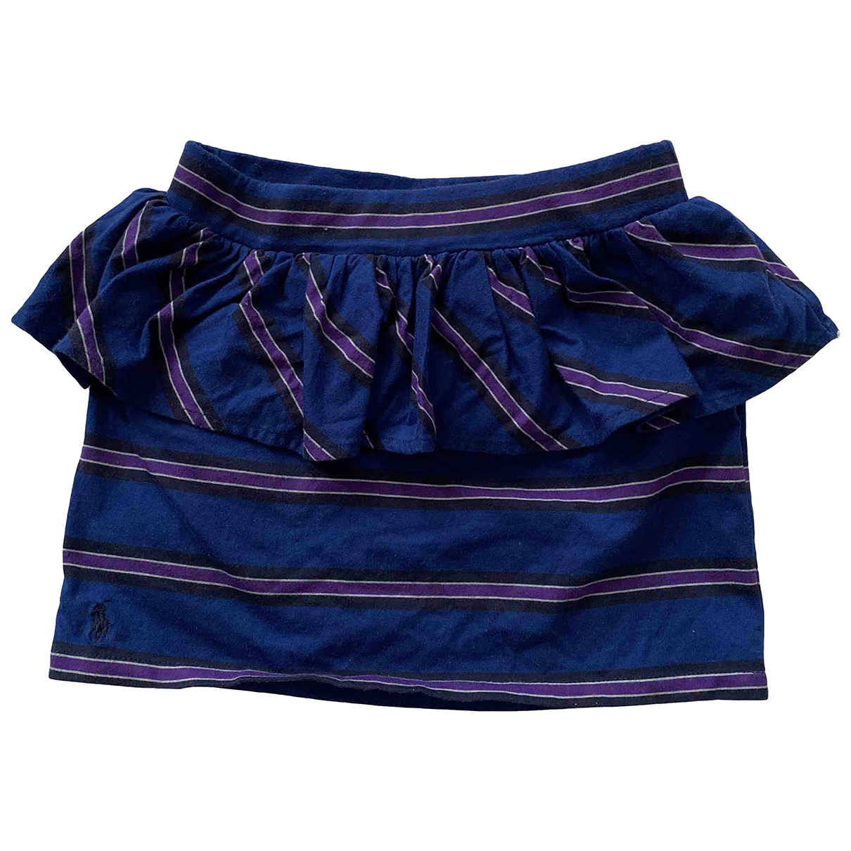 Ralph Lauren \N Navy Cotton skirt for Kids 8 years - up to 128cm FR