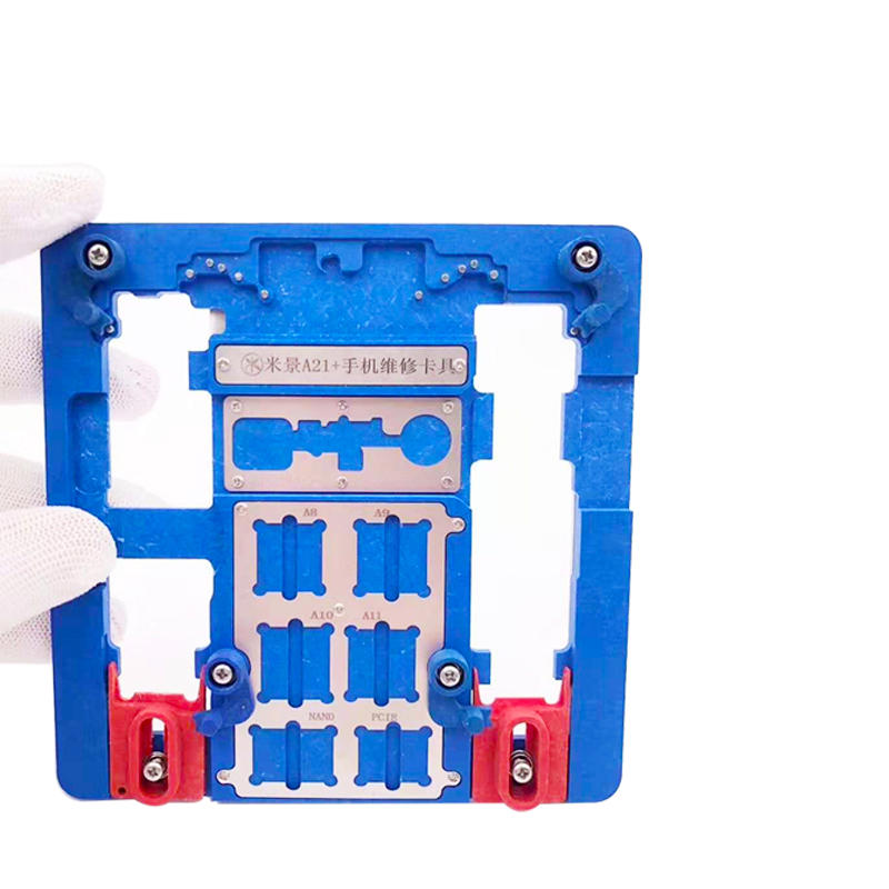 MiJing A21+ A22+ PCB Holder Fixture for iPhone XR/8P/8G/7P/7G/6SP/6S/6P/6G/5S/5C A10 A9 A8 A7 CPU Nand Chip Repair Tool