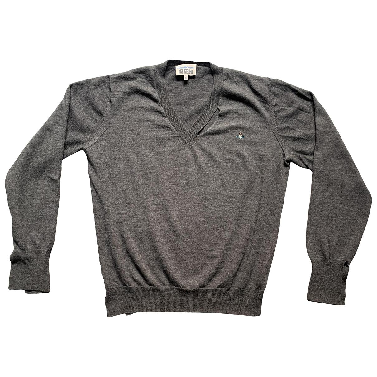 Vivienne Westwood - Pulls.Gilets.Sweats   pour homme en laine - anthracite