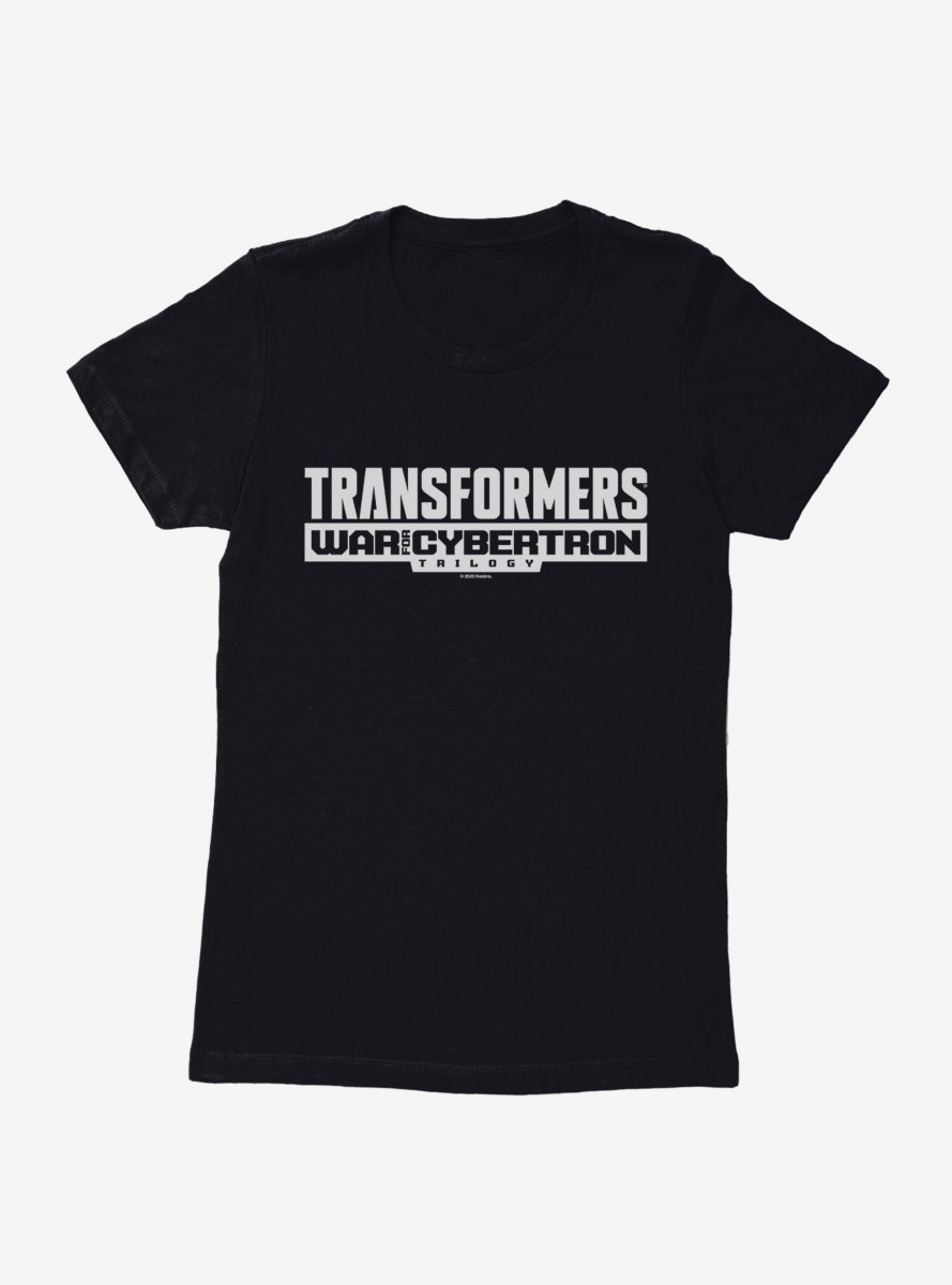Transformers: War For Cybertron - Siege Trilogy Logo Womens T-Shirt