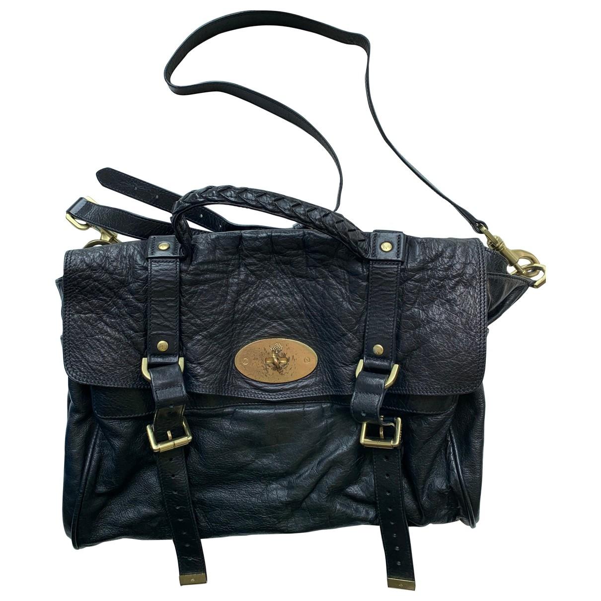 Mulberry Alexa Black Leather handbag for Women \N