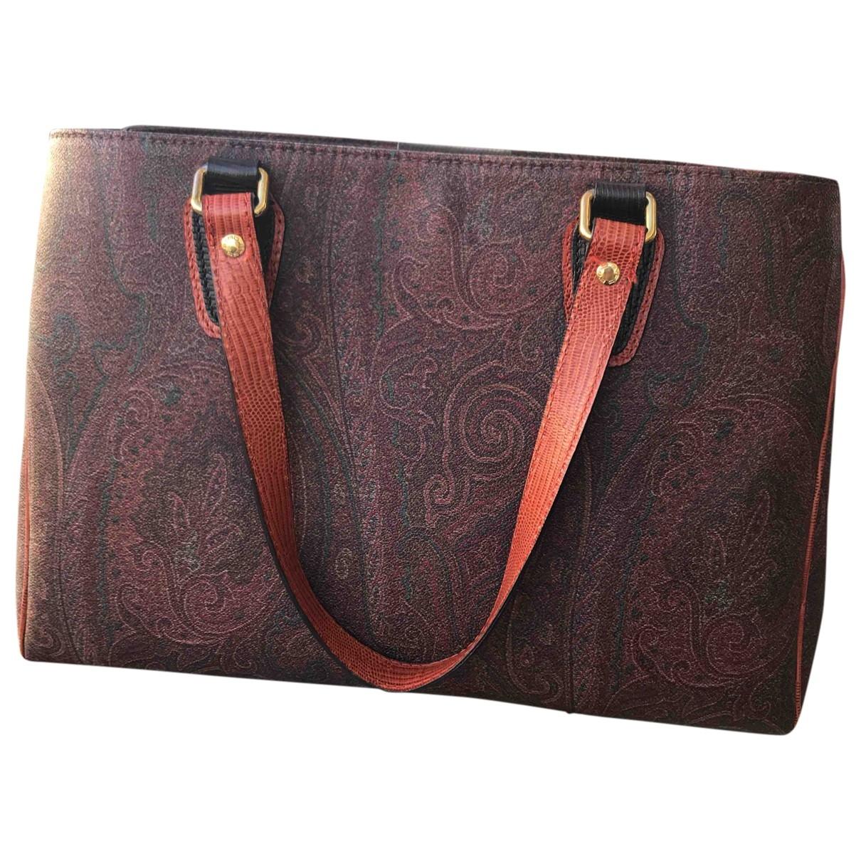 Etro \N Handtasche in Leder