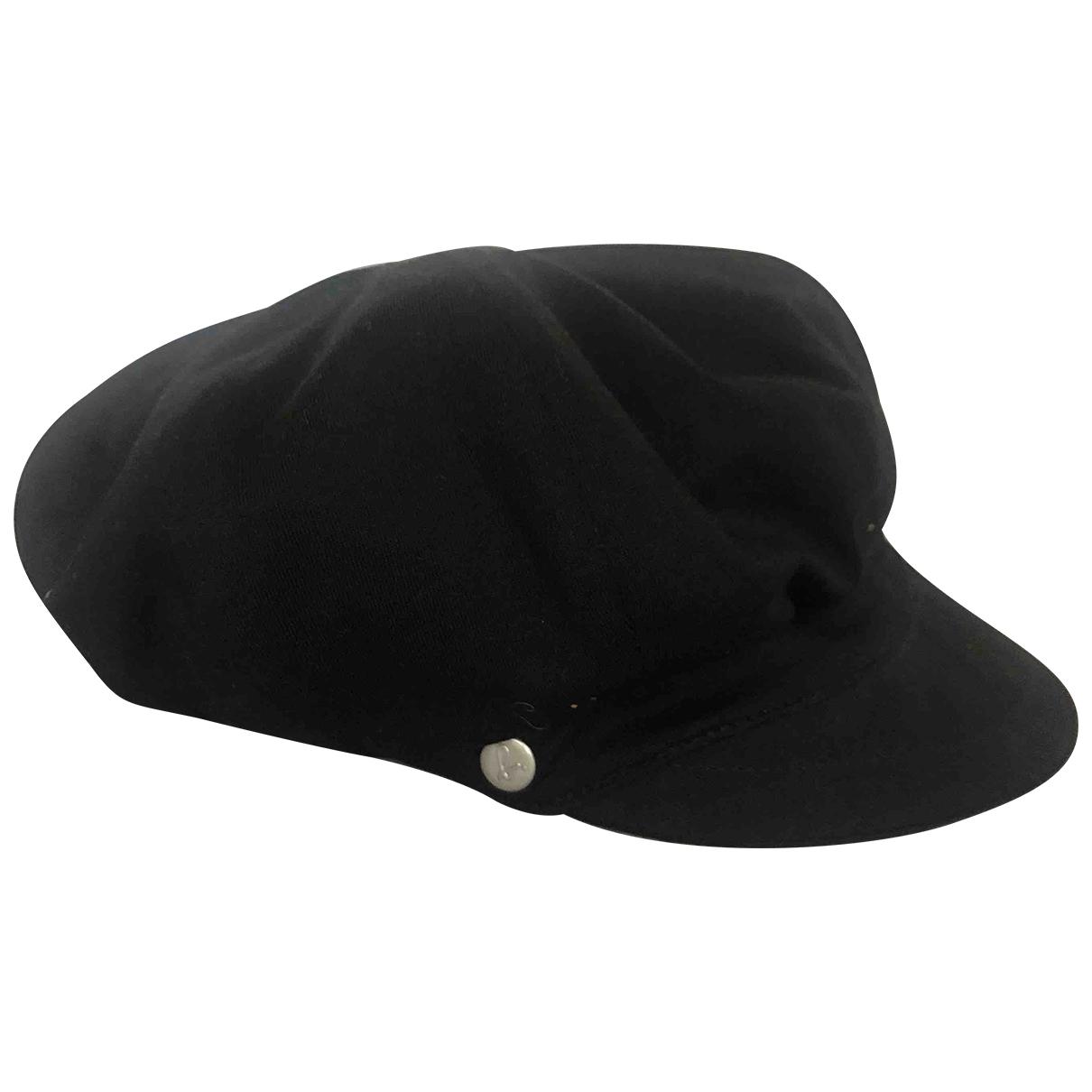 Agnes B. - Chapeau   pour femme en coton - noir