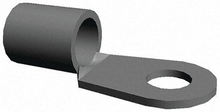 TE Connectivity , SOLISTRAND Uninsulated Crimp Ring Terminal, M4 Stud Size, 4mm² to 6mm² Wire Size (10)