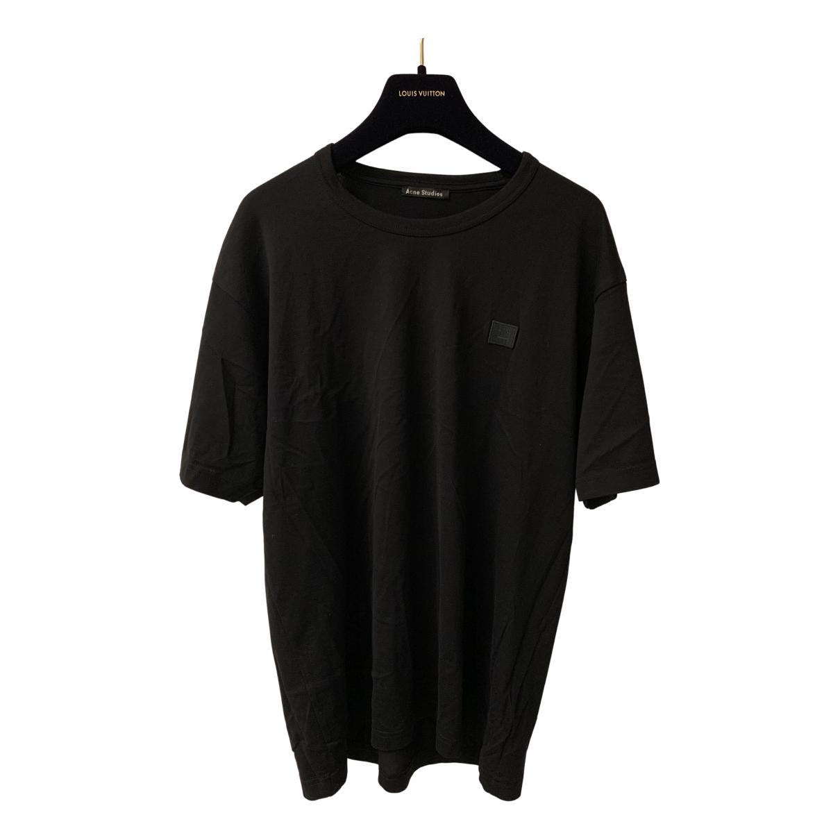 Acne Studios \N T-Shirts in  Schwarz Baumwolle