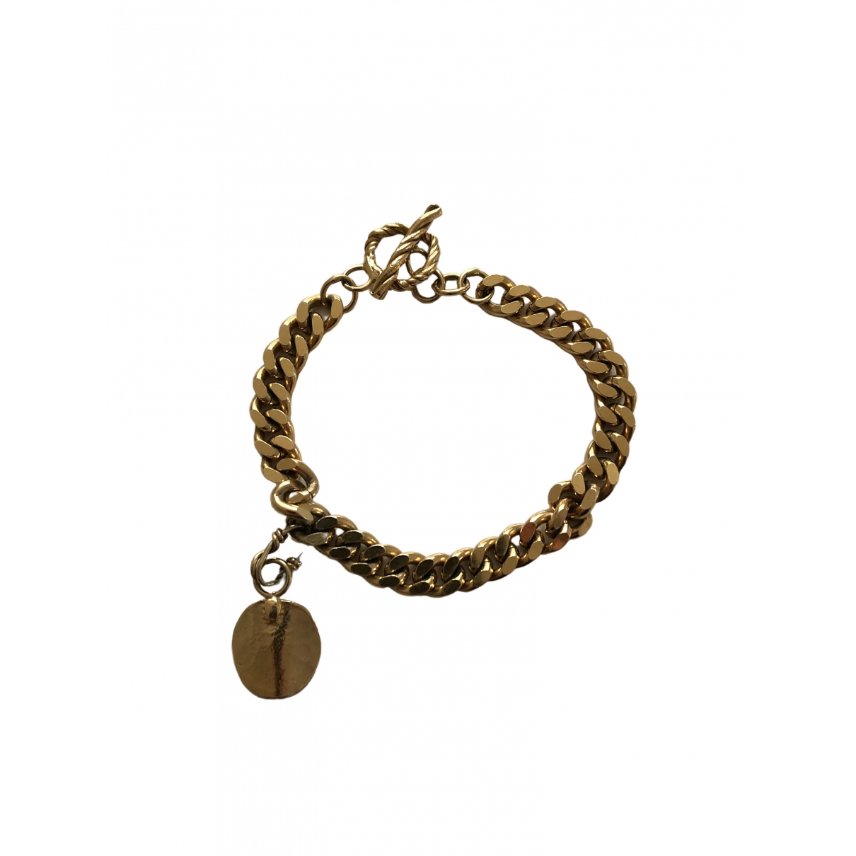 Orit Elhanati \N Gold Gold plated bracelet for Women \N