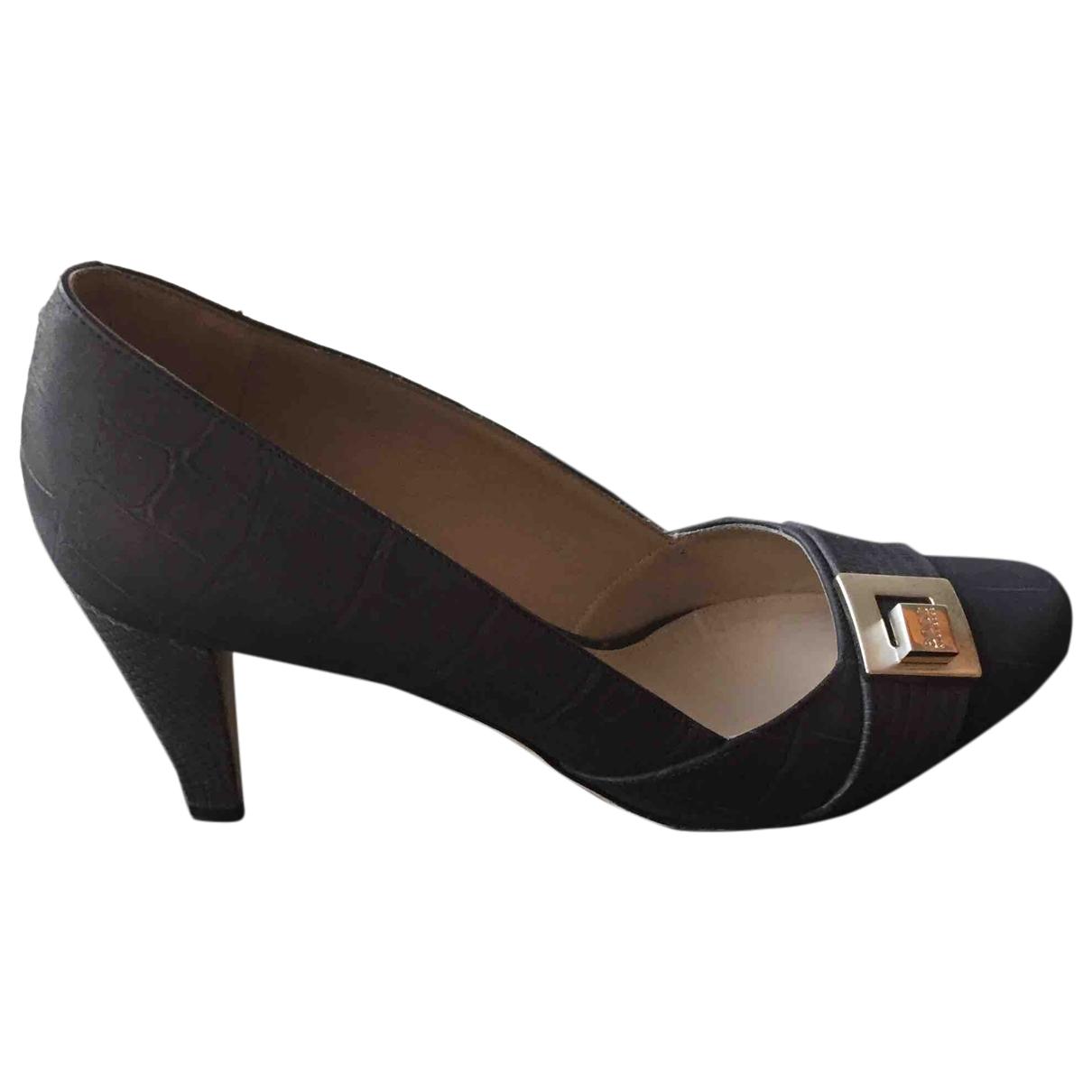 Boss \N Blue Leather Heels for Women 39 EU