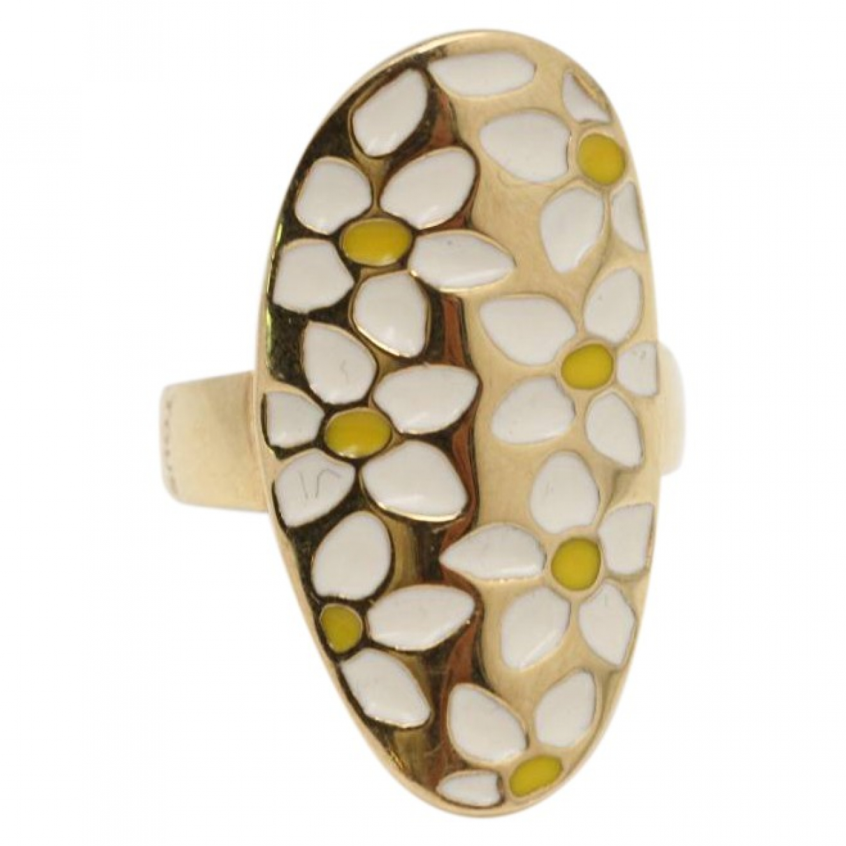 Non Signé / Unsigned \N Gold Yellow gold ring for Women 54 EU