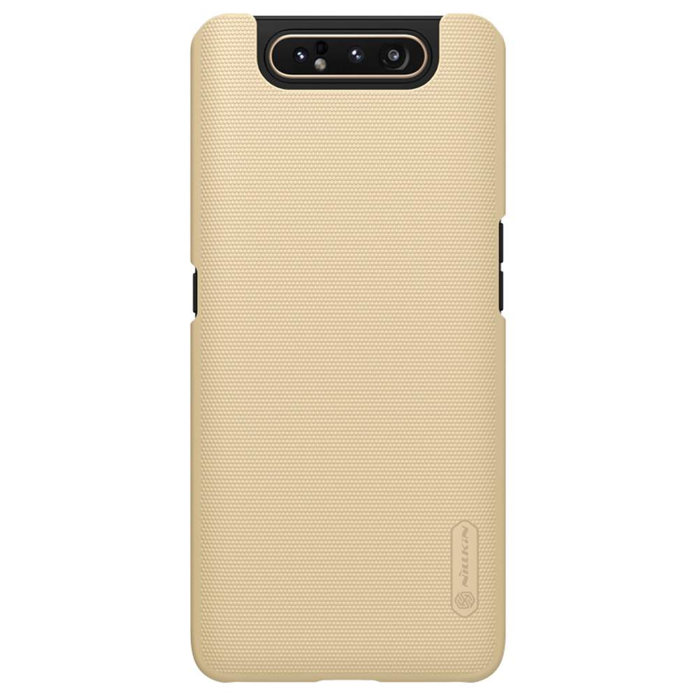 NILLKIN Protective Frosted PC Phone Case For Samsung Galaxy A80 / A90 4G Smartphone - Gold