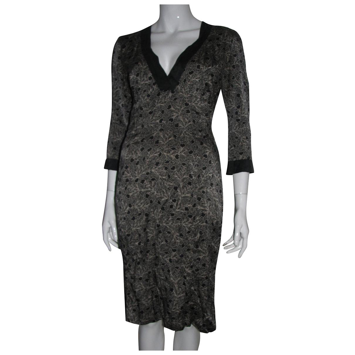 Joseph \N Multicolour Silk dress for Women 38 FR