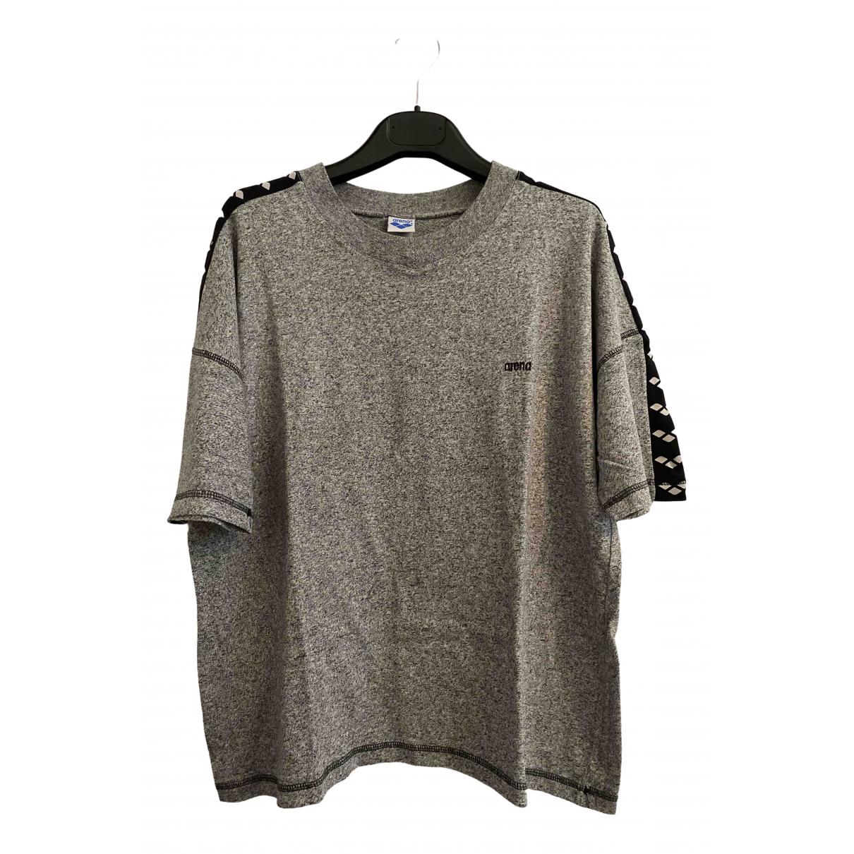 Arena - Top   pour femme en coton - gris