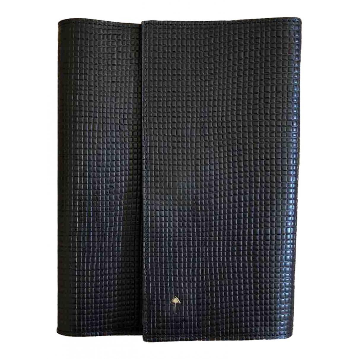 Giorgio Armani - Objets & Deco   pour lifestyle en cuir - noir