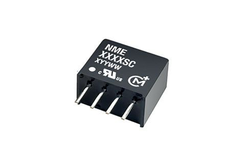 Murata Power Solutions NME 1W Isolated DC-DC Converter Through Hole, Voltage in 4.5 → 5.5 V dc, Voltage out 5V dc