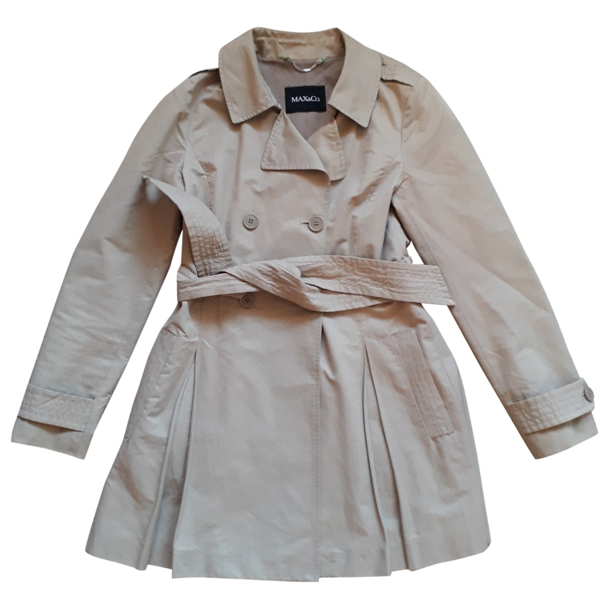 Max & Co \N Trench in  Beige Baumwolle