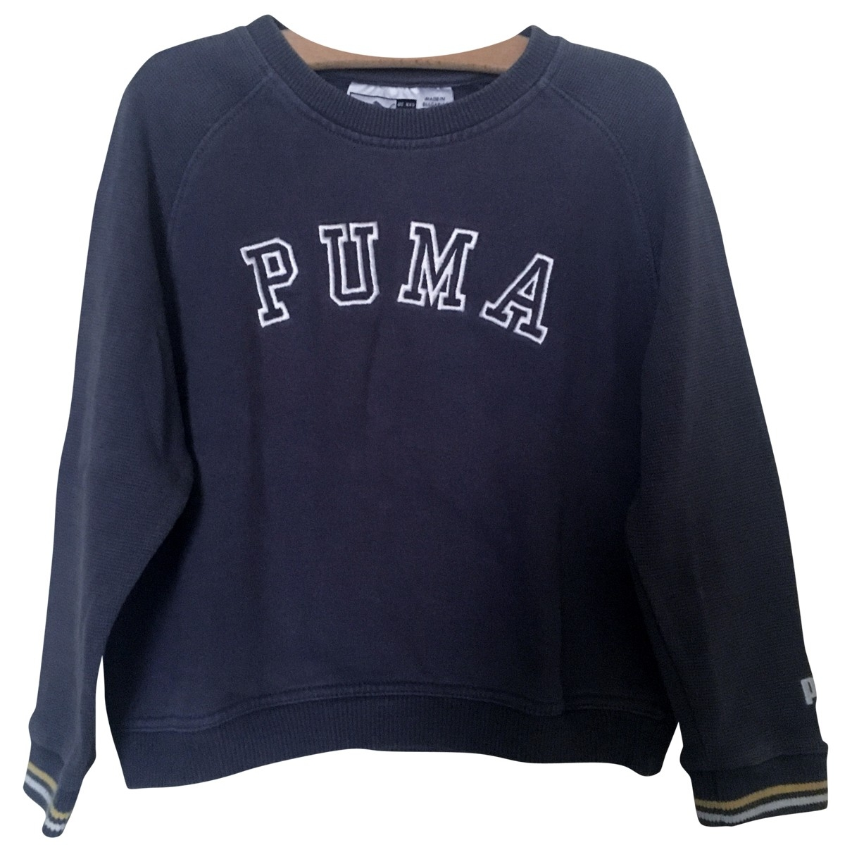 Puma \N Navy Cotton Knitwear for Kids 4 years - up to 102cm FR